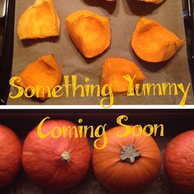 Working on something good today especially for us #expats. Post to come soon! #pumpkin #fall #bazaart