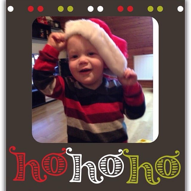 Merry Christmas und Frohe Weihnachten! #germany #santababy #christmas #weihnachten #expat #toddlersofinstagram