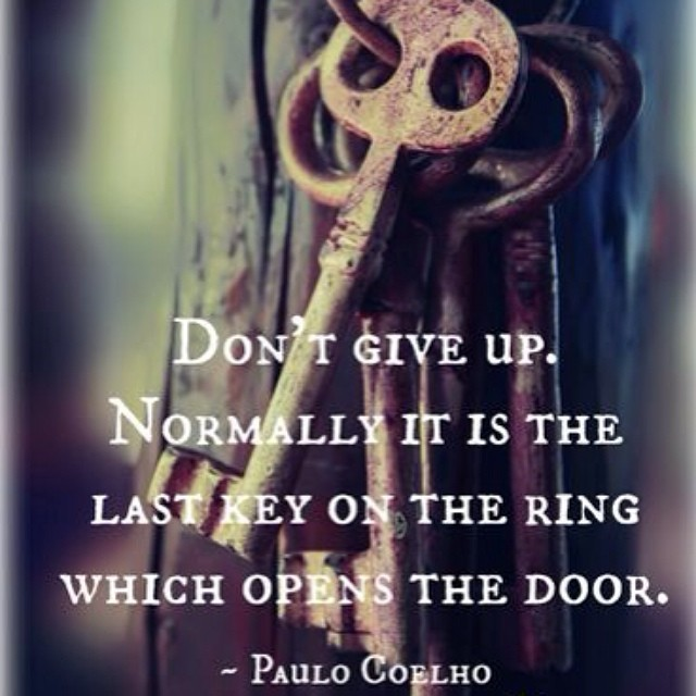Don't give up. #soulfulsunday #sisterwives #authors #writers