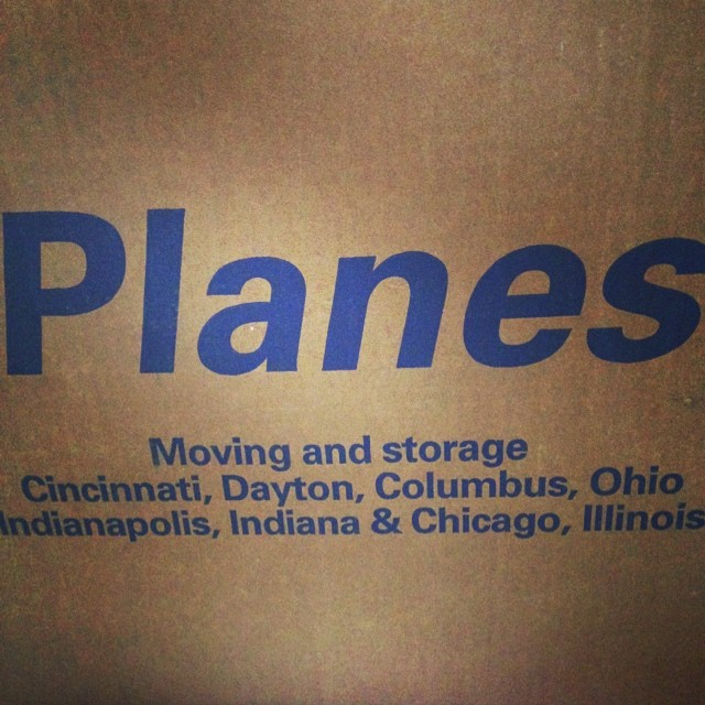 Boxes boxes. They are everywhere. #moving #excited #expat